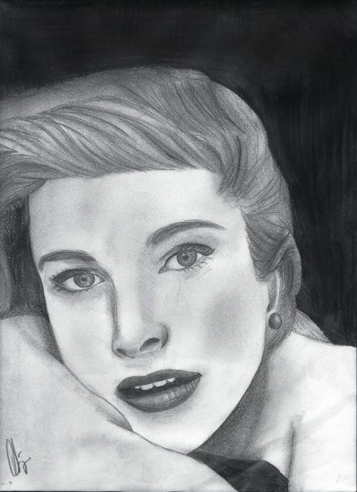 Grace Kelly por Aliya